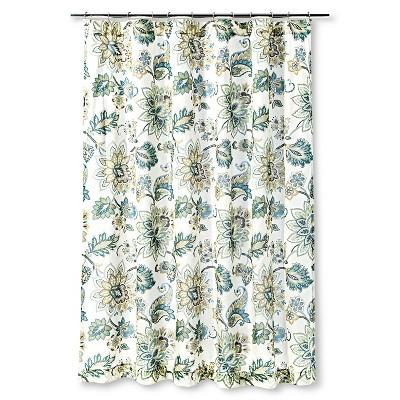 Homthreads™ Greyson Shower Curtain - Teal