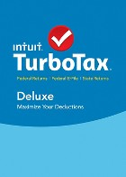 TurboTax Deluxe FS 2015 for Windows - Email Delivery - Digital Download