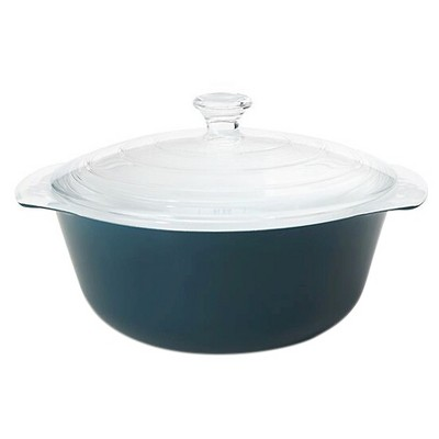 Creo Smartglass® 2.11 Quart Mediterranean Covered Casserole Dish