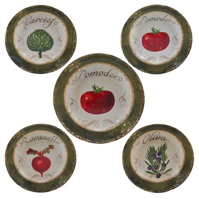 "Certified International Pomodoro Pasta Set (12""& 8"")"