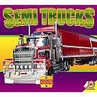 Semi Trucks ( Mighty Machines) (Hardcover)