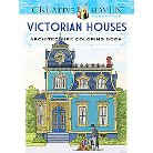 Creative Haven Victorian Houses Architec ( Creative Haven Coloring Books) (Paperback)