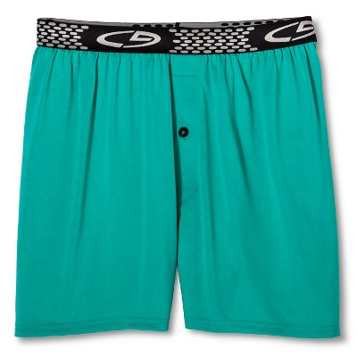 Men's Boxer Short Green Small - 4 Pack - C9 Champion® Underwear