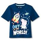 Toddler Boys' Peppa Pig T-Shirt - Blue 2T