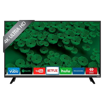 "VIZIO D-Series 40"" Class UHD 120Hz Full Array LED Smart TV - Black (D40u-D1)"