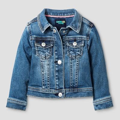 Baby Girls' Jean Jacket Medium Blue 12M - Genuine Kids from Oshkosh™