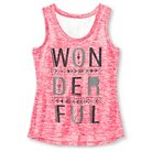 Girls' Miss Chievous Tank Top - Pink L