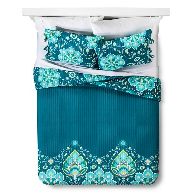 Tamerin Quilt Set (King) Blue 3pc - Mudhut™