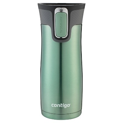 Contigo® West Loop 16oz Stainless Steel Travel Mug - Gray Jade
