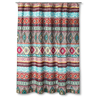 "Kamala Shower Curtain (72""x72"") Multi-Colored - Mudhut™"