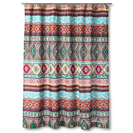 Kamala Shower Curtain 72 X72 Multi Colored Mudhut Target