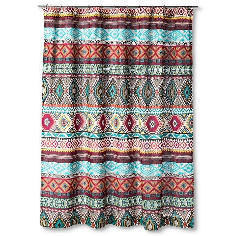 Kamala Shower Curtain 72 X72 Multi Colored Target