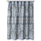 """Masai Shower Curtain (72""""x72"""") Blue - Mudhut™"""