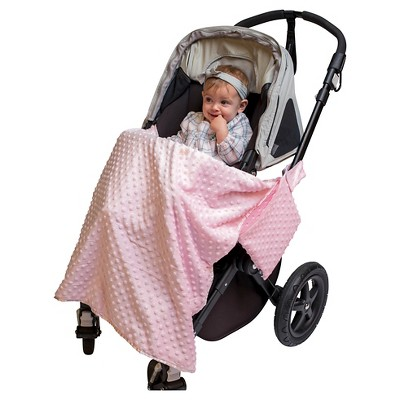 JL Childress Cuddle 'N Cover Stroller Blanket - Pink
