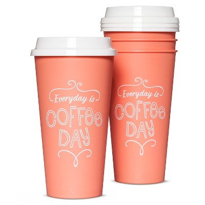 Aladdin 20oz Reusable To Go Mug 4pk - Georgia Peach