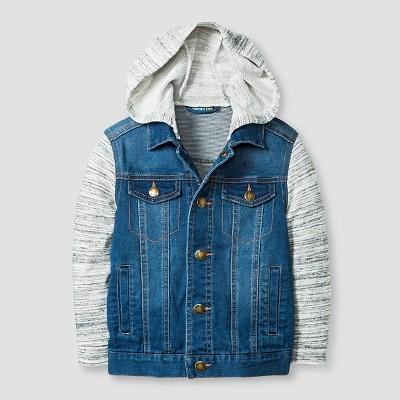 Baby Boys' Jean Jacket - Blue 12 M - Genuine Kids™ from OshKosh®