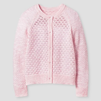 Baby Girls' Cardigan Pink 12M -  Cat and Jack™