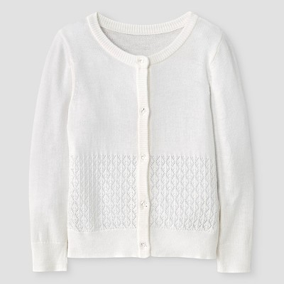 Baby Girls' Cardigan Almond Cream 18M -  Cat and Jack™
