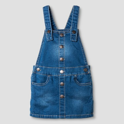 Baby Girls' Shortalls Blue 12M - Genuine Kids from Oshkosh™