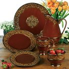 Certified International® Solstice Brown Dinnerware Collection