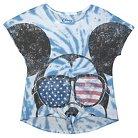 Disney Mickey Mouse Girls' T-Shirt Lite Blue XS (4-5)