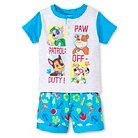 Baby Boys' PAW Patrol® T-Shirt and Short Set - Light Grey Heather 12 M