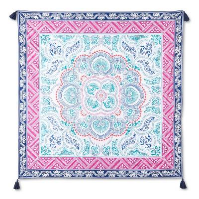 Meera Tapestry 57x57 Inch - Navy - John Robshaw®