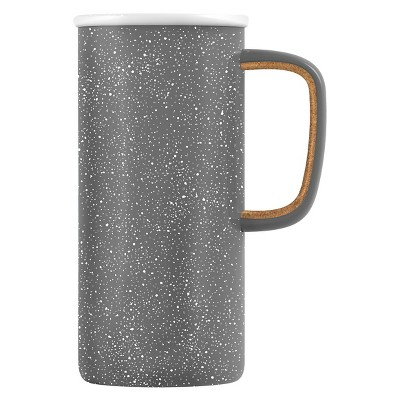 Ello Campy 16oz Stainless Steel Travel Mug - Earth Grey