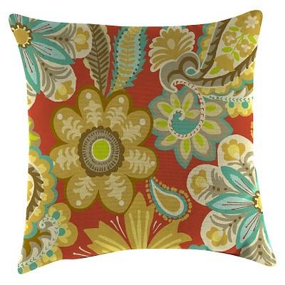 Jordan Set of Accessory Toss Pillows - Flower Child Cayenne