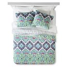 Feelin' Groovy Quilt Set Full/Queen - Multicolor - Boho Boutique™