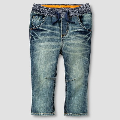 Baby Boys' Jeans - Medium Vintage Wash 12 M - Genuine Kids™ from OshKosh®