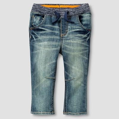 Baby Boys' Jeans - Medium Vintage Wash 18 M - Genuine Kids™ from OshKosh®