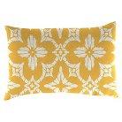 Outdoor Decorative Pillow Set Jordan Manufacturing Lemon Peel White