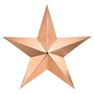Good Directions Med Copper Star - Polished Copper