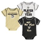 Pittsburgh Penguins Boys' Infant/Toddler 3 pk Body Suit 3-6 M