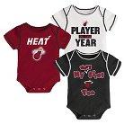 Miami Heats Infant Body Suits 3-6 M