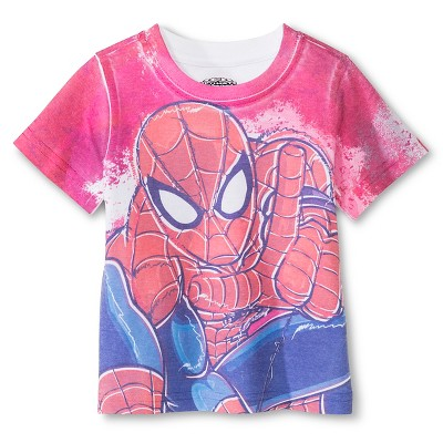 Marvel Toddler Boys' Spiderman™ Tee - Red 12 M