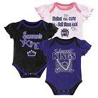 Sacramento Kings Girls Infant Body Suit 0-3 M