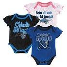 Orlando Magic Girls Infant Body Suit 0-3 M