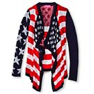 Girls' Americana Cardigan
