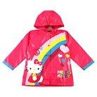 Toddler Girls' Hello Kitty Rain Slicker Pink