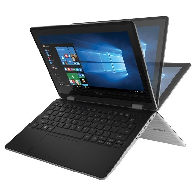 "Acer Aspire R 11 Convertible, 11.6"" HD Touch, Intel Celeron N3050, 2GB Memory, 32GB Storage, Windows 10 Home (R3-131T-C8X9)"