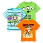 Toddler Boys' Toy Story 3-Pack Tee Shirts