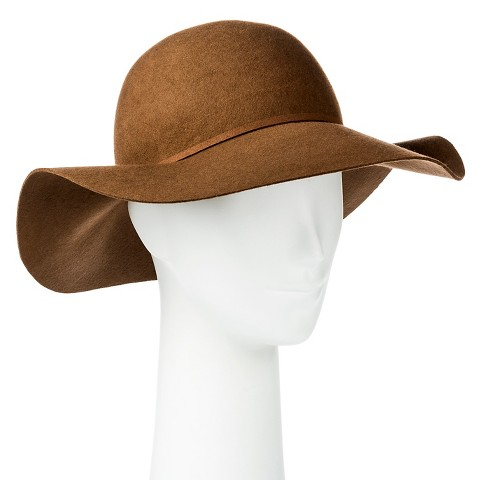 Women's Floppy Hat with Tassels Trim Tan - Merona™