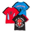Toddler Boys' Spiderman 3-Pack Tee Shirts