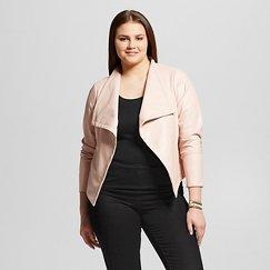 Women's Plus Size Zocalo Faux Leather Jacket - JAIME (Juniors')