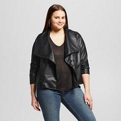 Women's Plus Size Montauk Faux Leather Jacket - JAIME (Juniors')