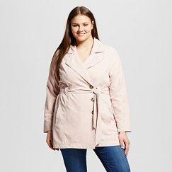 Women's Plus Size Toldeo Trench Coat - JAIME (Juniors')