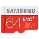 Samsung EVO 64GB MicroSD Card - White/ Red (MB-MP64DA/AM)