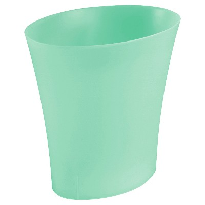 Sterilite 3.3 Gallon Oval Wastebasket - Strobe Green Tint